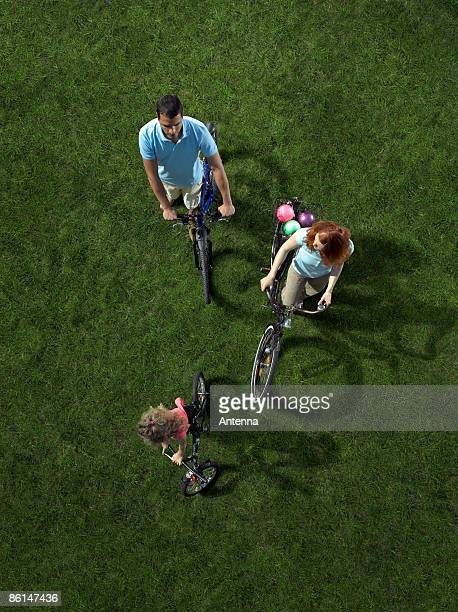 A family cycle ride
