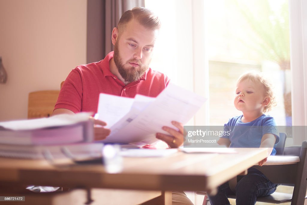 Family debt : Stock Photo