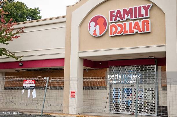 Family Dollar closed for unknown reasons The building is deemed unsafe Photo taken October 3 2014