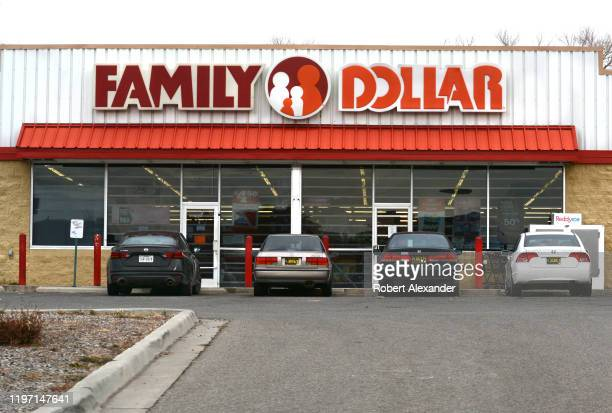Family Dollar store in Chimayo New Mexico a small hispanic village located between Santa Fe and Taos