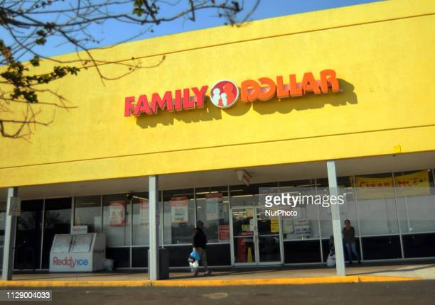 A Family Dollar store is seen in Orlando Florida on March 6 the day that Dollar Tree announced it will close up to 390 Family Dollar stores and...
