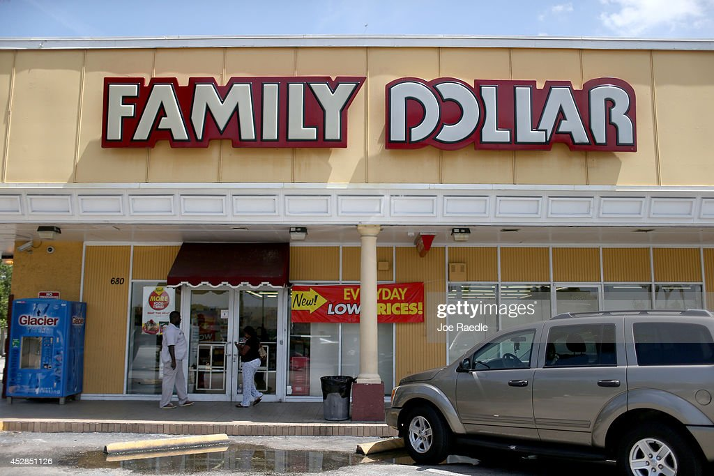 Dollar Tree To Acquire Family Dollar Stores For $8.5 Billion : News Photo