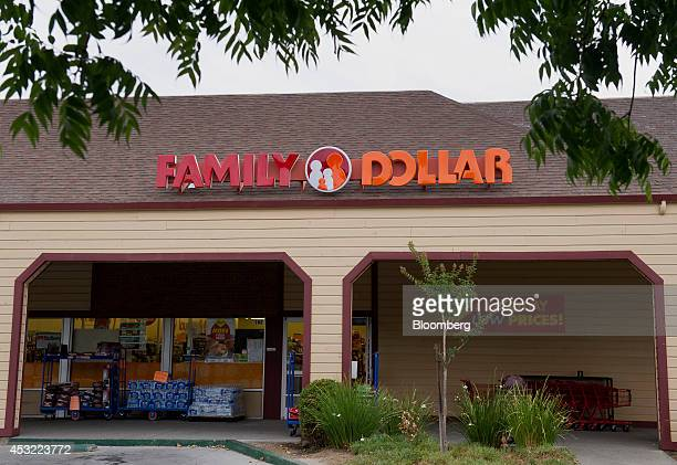 A Family Dollar Stores Inc location stands in Davis California US on Tuesday Aug 5 2014 Dollar General Corp is weighing a bid for Family Dollar...