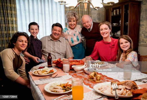 'Family Dynamics and a Red Fiero' Pictured Behind the Scenes Georgie Sheldon George Sr Meemaw Dr John Sturgis Mary and Missy A Thanksgiving dinner...