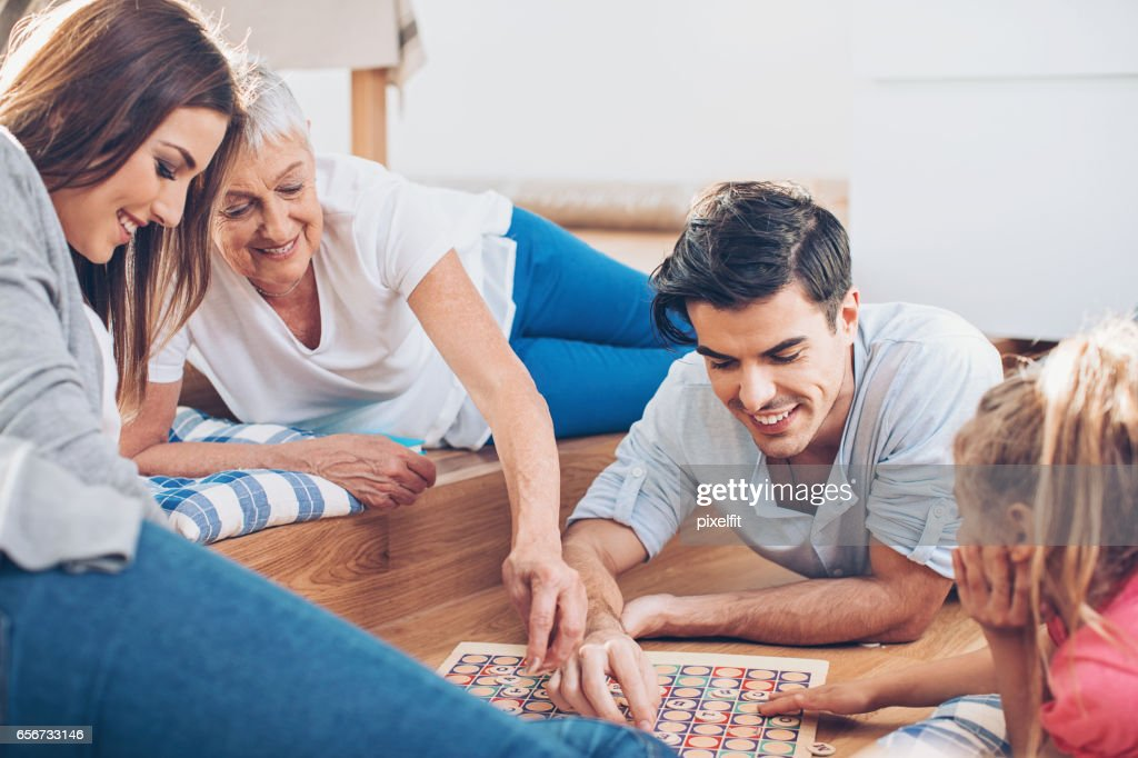 Family entertainment : Stock Photo
