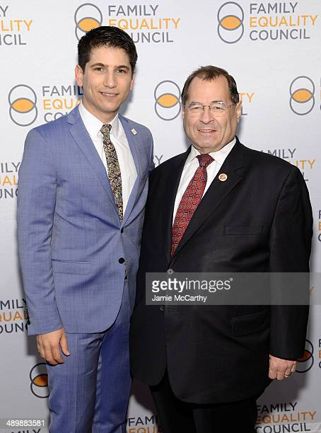 Family Equality Council's Executive Director Gabriel Blau and United States Congressman Jerrold Nadler attend the Family Equality Council's 2014...