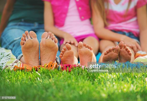 Family feet bottoms
