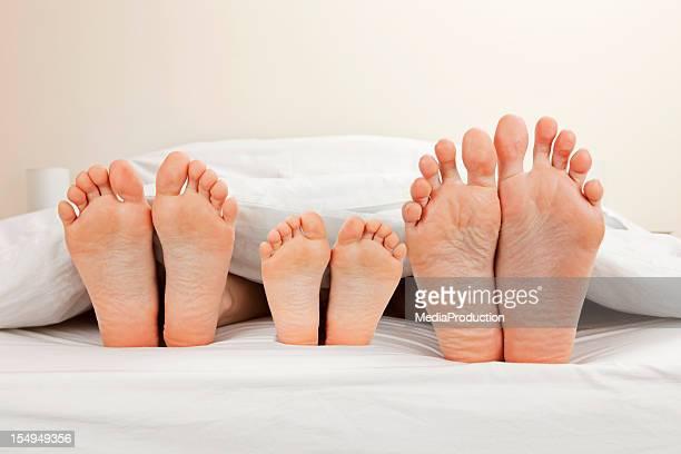 Familie Füße