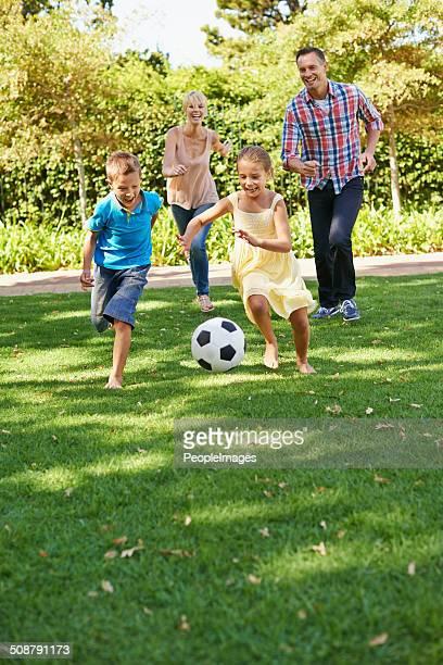 Loisirs en famille au parc
