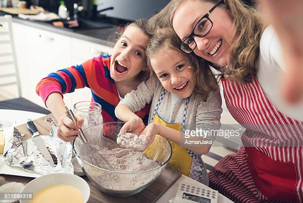 family fun - domestic kitchen stock pictures, royalty-free photos & images