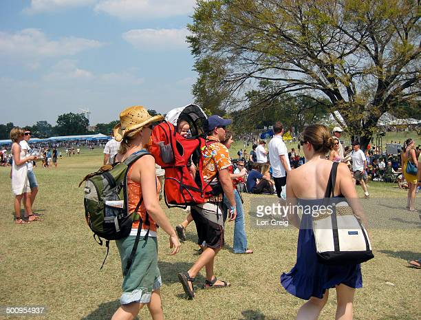 Family gathers at Austin City Limits music festival
