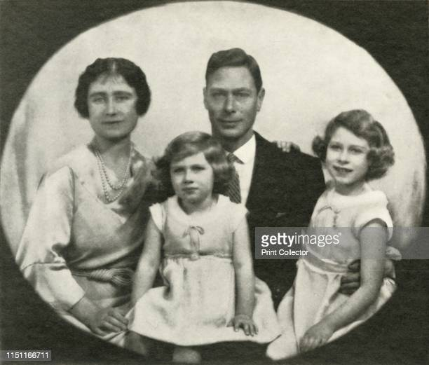 A Family Group' circa 1933 The Duke of York became King George VI on 11 December 1936 From George VI King and Emperor by Major J T Gorman [W G Foyle...