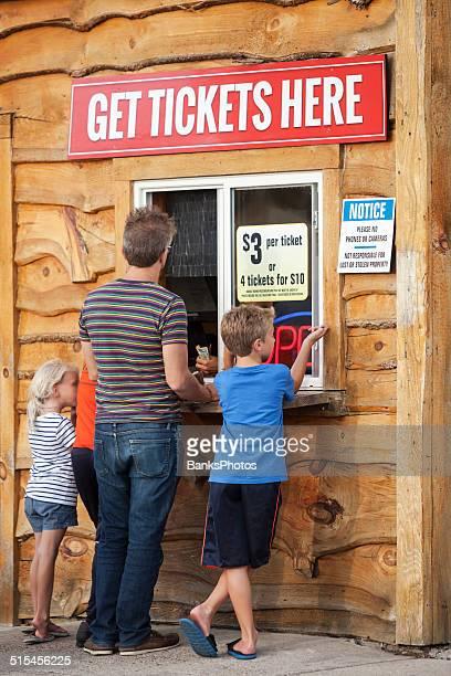 Famille Groupe achat de vos billets au guichet