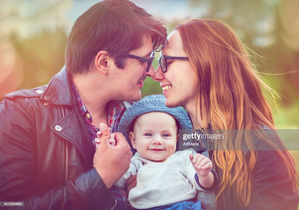 Family happy together : Stock Photo