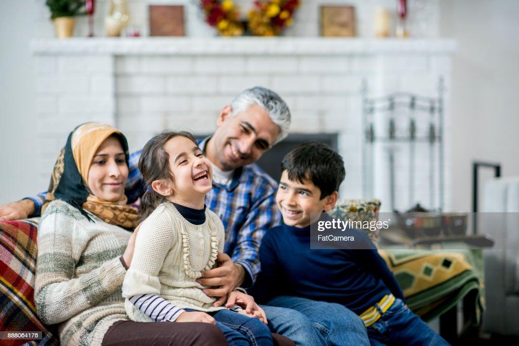 Family Having Fun : Stock Photo