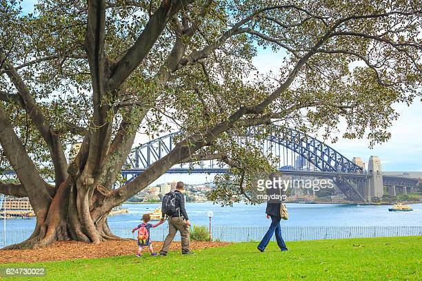 A family in Sydney