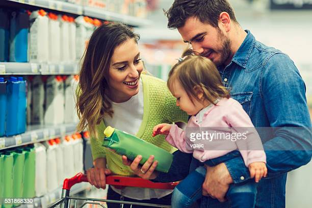 Family In The Shopping
