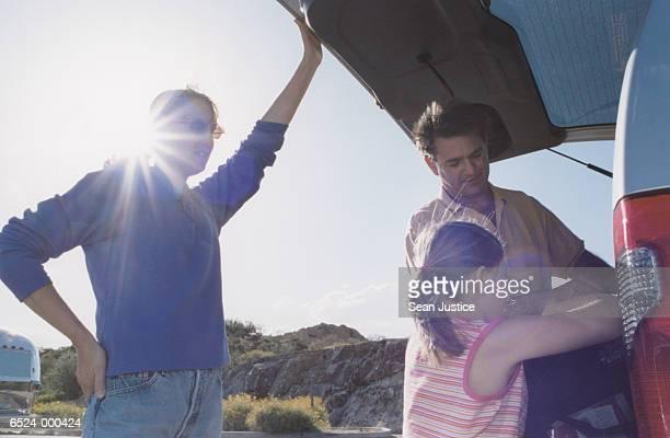 Family Loading SUV