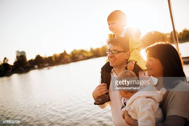 family love - riverbank stock pictures, royalty-free photos & images