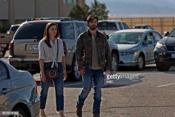 SHIFT 'Family Matters' Episode 406 Pictured Jill Flint as Jordan Alexander Eoin Macken as TC Callahan