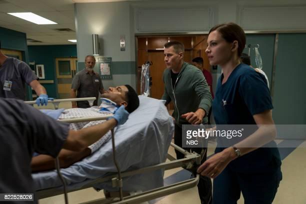 SHIFT 'Family Matters' Episode 406 Pictured JR Lemon as Kenny Fournette Brendan Fehr as Drew Alister Jill Flint as Jordan Alexander