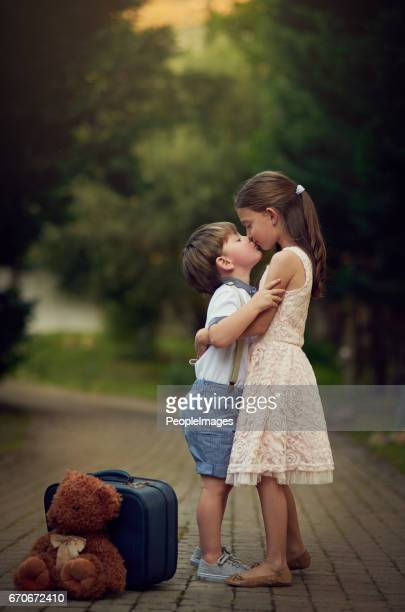 family means love forever - girls kissing stock photos and pictures