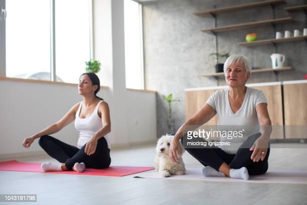 Familie meditation