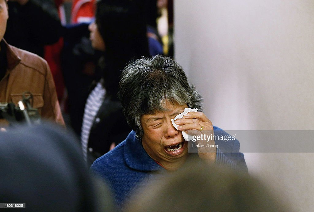 Malaysian Prime Minister Announces Flight MH370 Crashed Into Southern Indian Ocean : News Photo