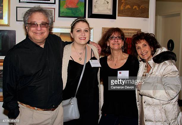 Family Members and Art Director Brandy Alexander attend The Art Director's Guild 3rd Art Exhibition 'Kinship Family' at Gallery 800 at the Historic...
