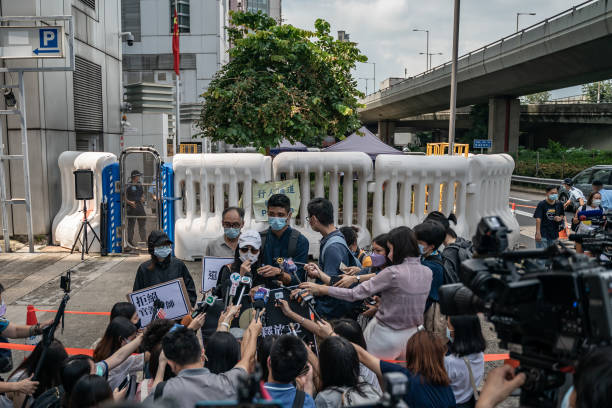 CHN: Hong Kong Families of Detained Demand Their Return Prior To Mid-Autumn Festival