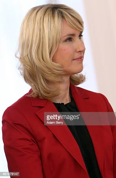 Family Minister Manuela Schwesig attends a ceremony in which German President Joachim Gauck appointed the new German government cabinet on December...