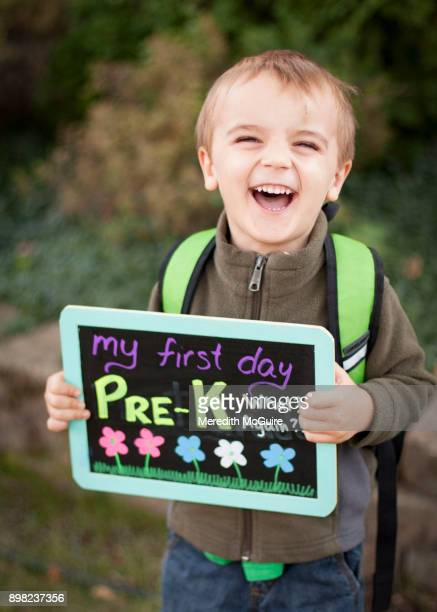 family moments - first day of school stock pictures, royalty-free photos & images