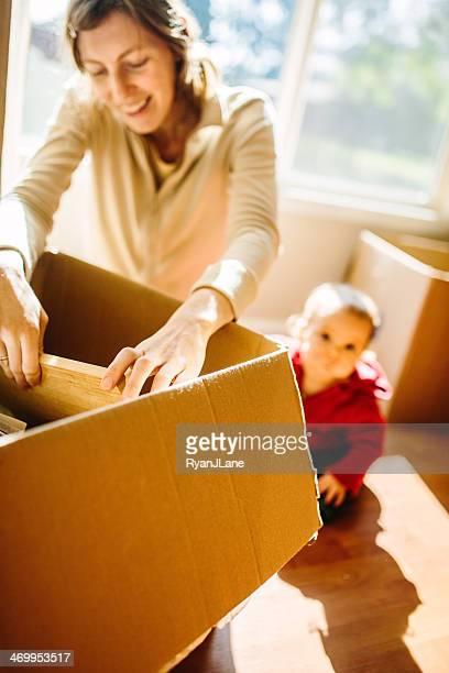 家族の移動