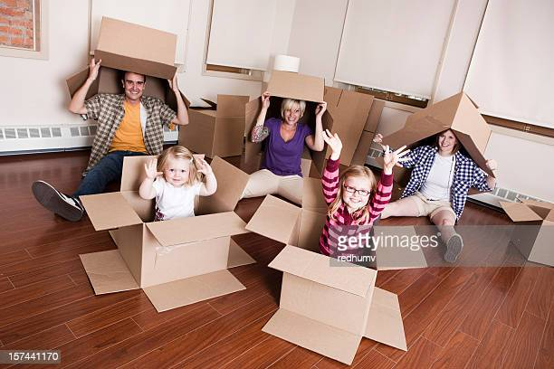 Family Moving Boxes