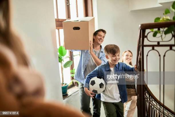 Family moving home