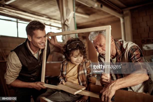 Family of carpenters