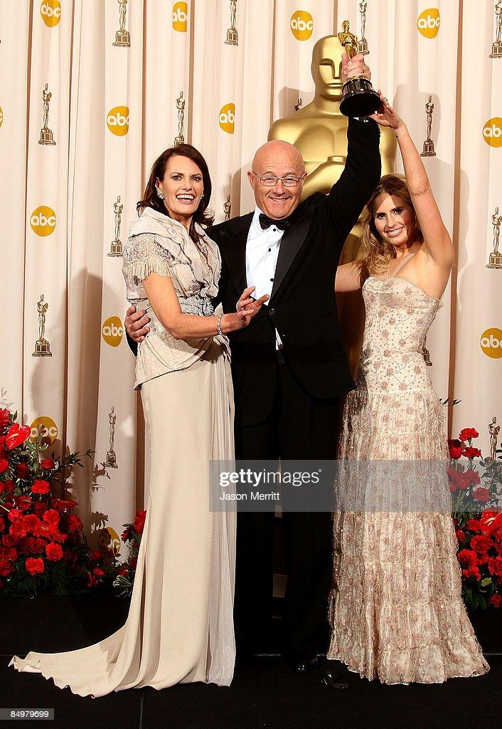81st Annual Academy Awards - Press Room : News Photo