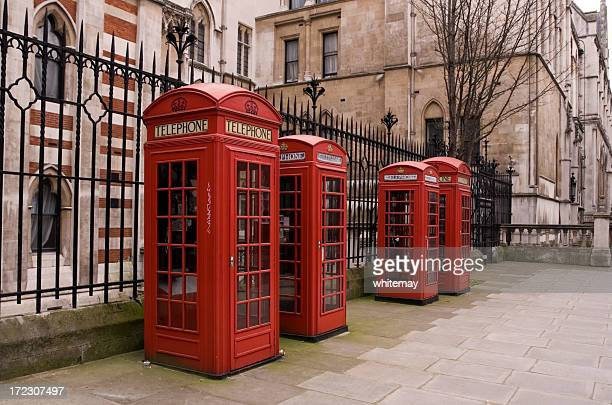 Family of phone boxes