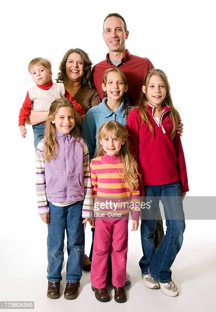 Familie von sieben