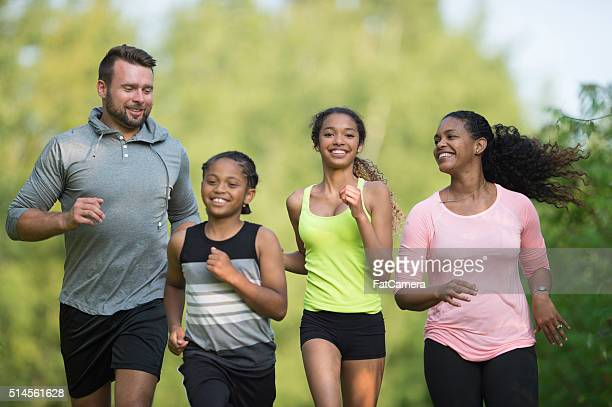 Family out for a Run