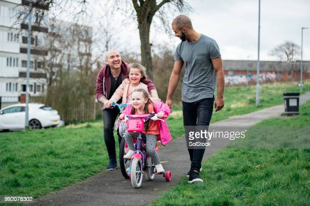 family out with their children - stereotypically working class stock pictures, royalty-free photos & images