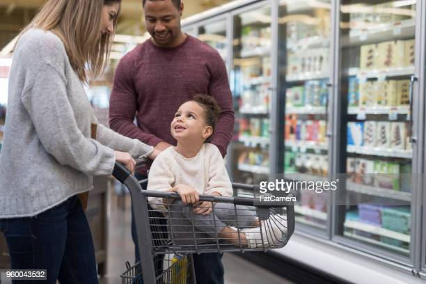 Family Outing to the Grocery Store