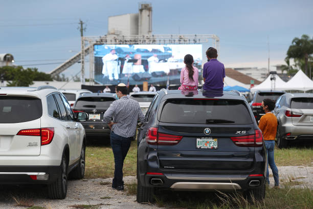 FL: Drive-In Services Held For Yom Kippur in Florida