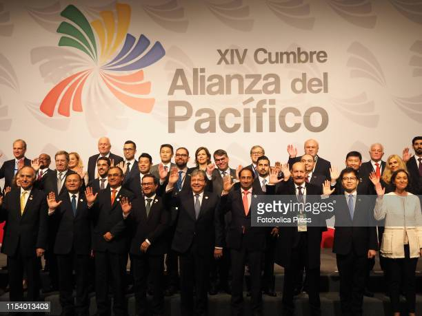 Family photo of ministers and representatives of 56 countries participating in the Summit of the Pacific Alliance. The Pacific Alliance summit, which...