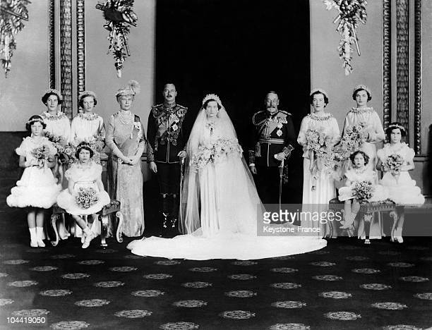 Family Photograph In The Royal Chapel Of Buckingham Palace In London On November 6 After Duke Henry Of Gloucester'S Wedding