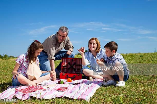 Pique-nique familial