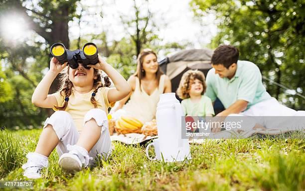 Family picnic.