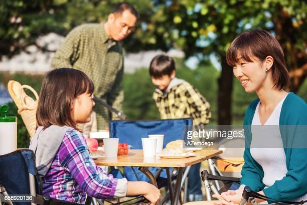 ご家族でのピクニック