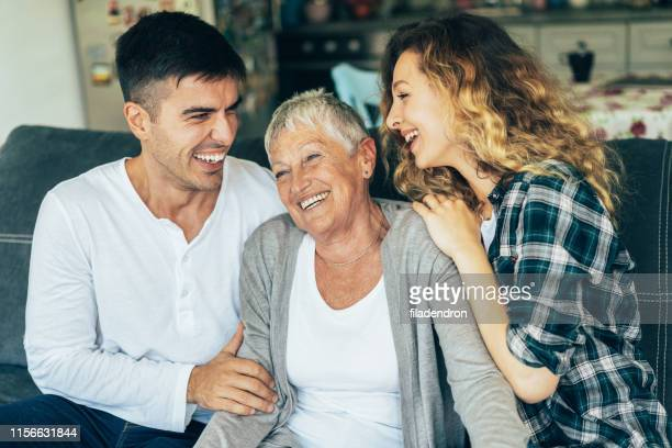 family - mother in law stock pictures, royalty-free photos & images