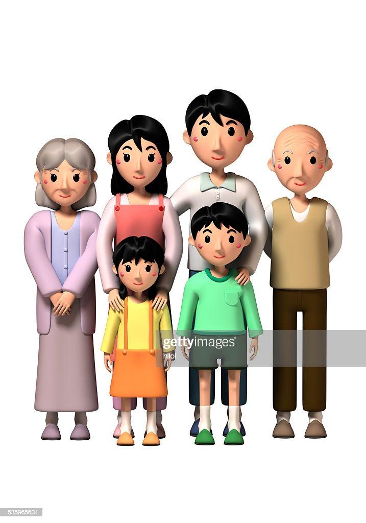 family : Stock Photo